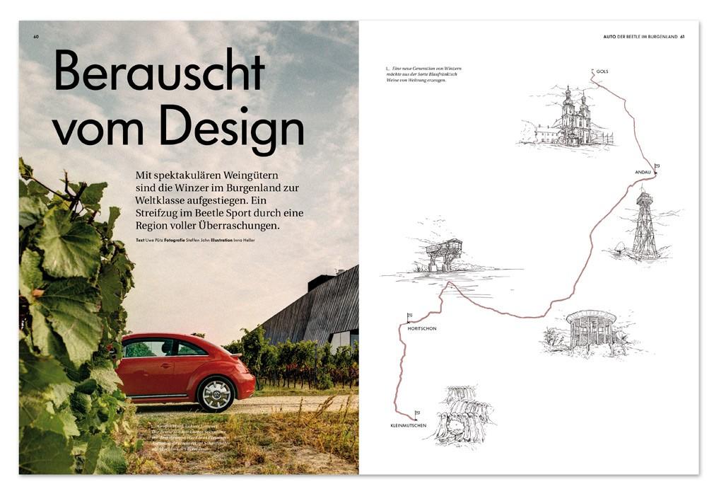 Magazine Storyboard | Vw Magazine Illustrations Inna Heller Illustration Storyboard